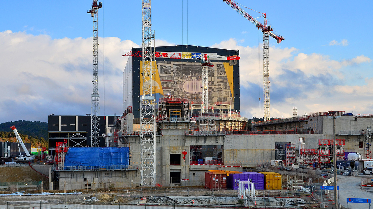 ITER-construction