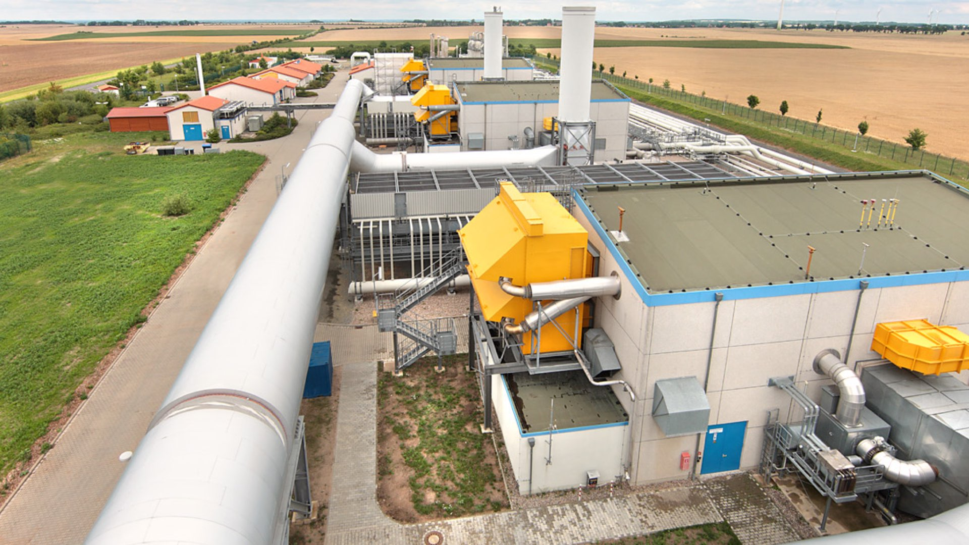Pipeline compressors installed in Germany