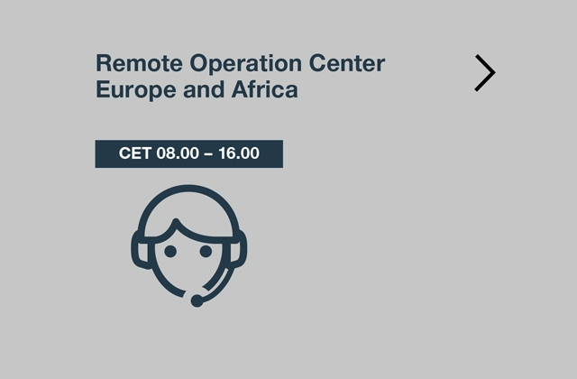 TechLine remote operation center europe